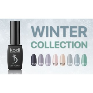 Gel polish 8 ml Winter Series Kodi professional