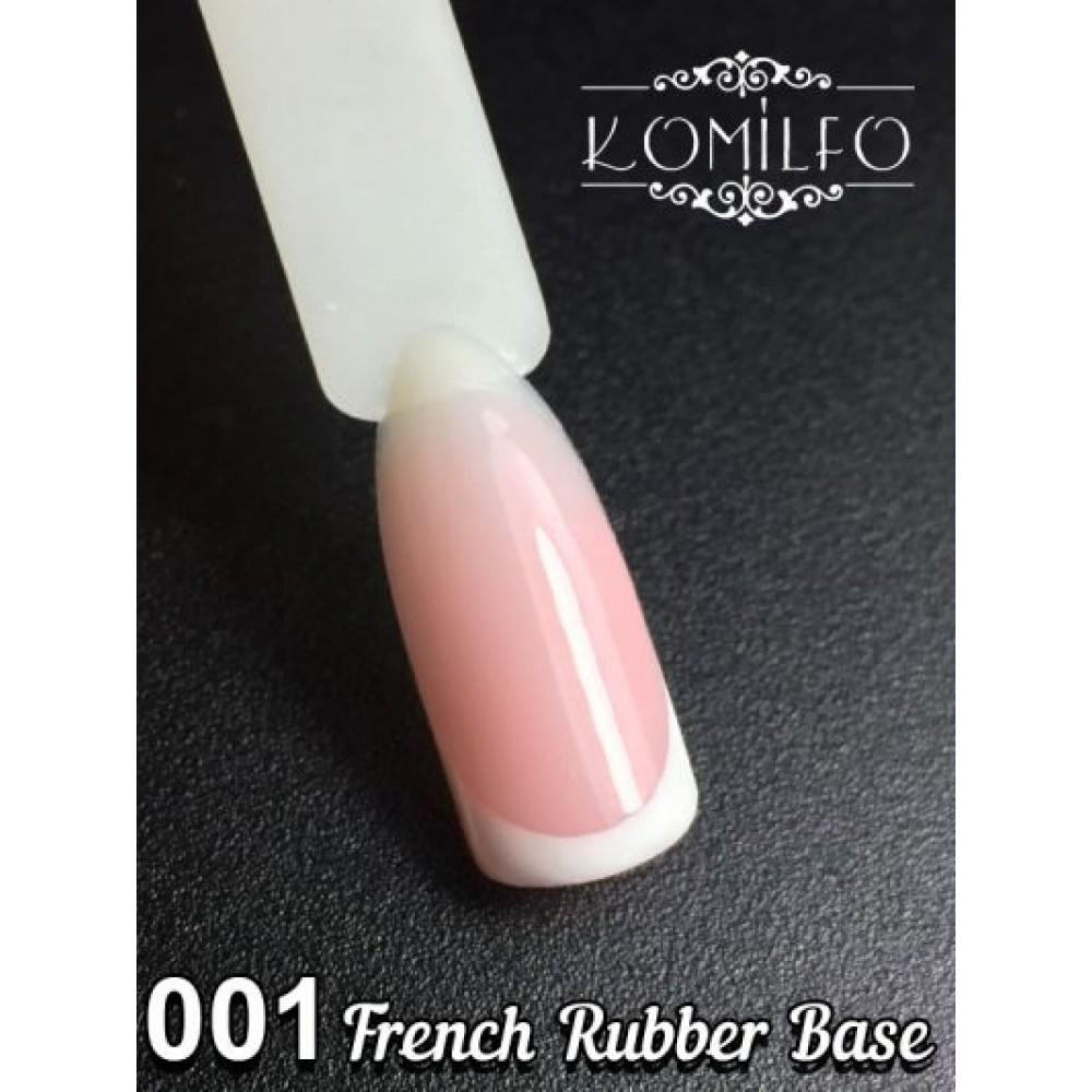 Komilfo French Rubber Base 30 ml 001 (without brush)